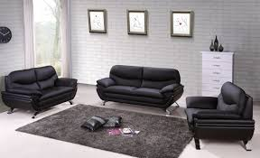 Genuine Leather Sofa Sets Harmony Ying Yang Contemporary Leather Living Room Sofa Set