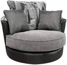 Black Swivel Chair Buy Buoyant Luman Morocco Black Fabric Swivel Chair Online Cfs Uk