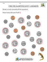 identifying coins worksheet exponents math problem worksheets