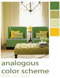 Green Purple Yellow Split Complementary Color Scheme Kids Rooms - Green and yellow color scheme living room