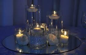 Cylinder Floating Candle Vase Set Of 3 Centerpiecerentals