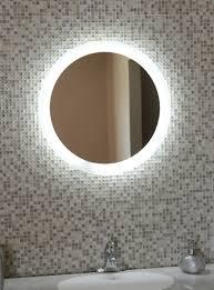 Lighted Bathroom Mirrors Led Illuminated Bathroom Mirror Bathroom Mirrors