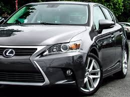 lexus cars 2014 2014 used lexus ct 200h 5dr sedan hybrid at atlanta luxury motors