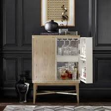 Mini Bars For Living Room by Victuals Grey Bar Cabinet Crate And Barrel Home Bar