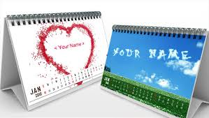personalized names name desktop calendar for 2012 make a personalized 2012 name