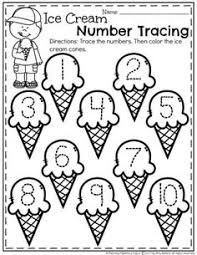 march preschool worksheets color by numbers free preschool and