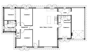 plan maison 120m2 4 chambres maison 120m2 4 chambres con plan maison 120m2 4 chambres gratuit e