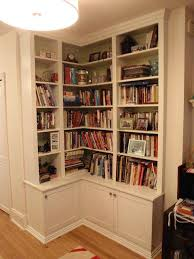 bookcase billy corner bookcase with glass door face frame corner