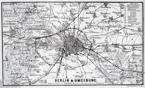 Map Of Berlin Germany by Large Detailed Old Map Of Berlin City Area U2013 1885 Vidiani Com