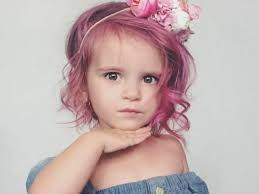 toddler hair pink hair dye for toddlers divides the