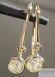 dangle diamond earrings yellow diamonds brilliant diamonds diamond dangle earrings