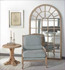 Large Arched Wall Mirror Furniture Big Floor Length Mirror Large White Framed Mirror