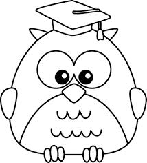 kindergarten graduation owl clip art clipart panda free