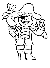 parrots coloring pages chibi hook pirate and his parrot coloring pages bulk color