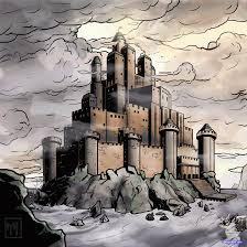 how to draw a fortress medieval fortress step by step buildings