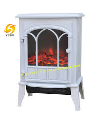 Electric Fireplace Stove White Black Free Standing Desktop Electric Fireplace Stove