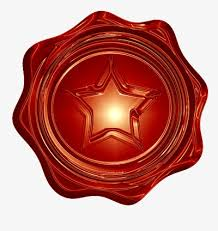 red light center download five star red seal round light center png image and clipart for