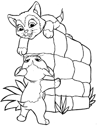 of kittens and puppies to print free coloring pages on art