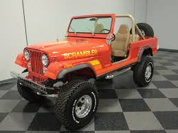 jeep scrambler for sale 1982 jeep cj8 streetside classics the nation s trusted classic