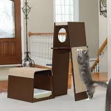 Modern Cat Trees Furniture by Unique Cat Trees Pet Picks Hayneedle