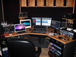 picture of recording studio desk diy recording studio desk