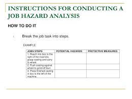 activity hazard analysis template virtren com