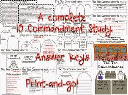 two for tuesday 10 commandments and order of operations