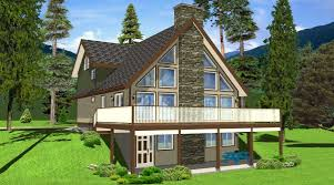 Small A Frame Cabin Plans Aframe Retro House Plan Level Two Best 25 Lake Home Plans Ideas