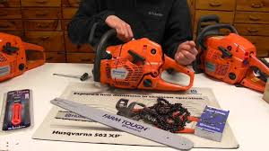 husqvarna 555 xp chainsaw youtube