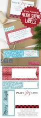 craftaholics anonymous christmas mailing labels