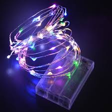 rgb led light strips 2m 5m led strip light 3pcs aa battery powered rgb copper wire