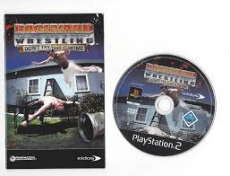 backyard wrestling don u0027t try this at home for playstation 2 ps2