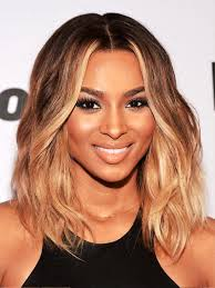 collarbone length wavy hair pictures of medium length wavy hairstyles for black women