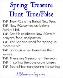 thanksgiving treasure hunt spring treasure hunt with printables naw ruz