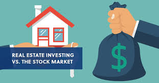 real estate investing vs the stock market rehab financial group