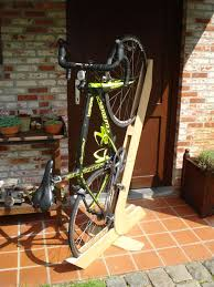 Living Room Bike Rack by Bike Rack Of Wood 3 Steps With Pictures