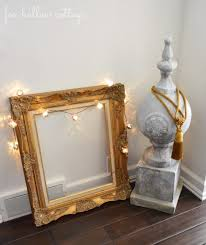 Home Decor Photo Frames Budget Friendly Diy Ideas For Decorating With Gold Fox Hollow