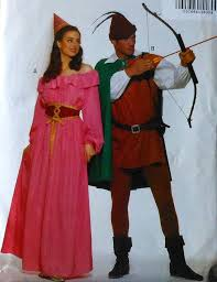 butterick halloween costumes robin hood and maid marian costume sewing pattern sewing