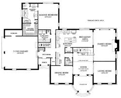 bedroom one story house plans with two master bedrooms best home