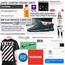 Font Of Meme - funny fashion starter pack memes fashionista
