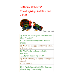 thanksgiving riddles and jokes 5 mr