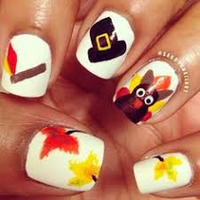 thanksgiving nail designs piggies and fingers