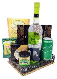 liquor gift baskets cheers to the republic vodka gift basket by pompei baskets