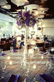 Purple And Silver Wedding Fall Wedding Posh Floral Designs