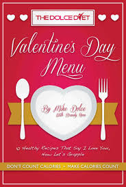 free on kindle the dolce diet valentine u0027s day menu the dolce diet