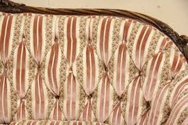 Tufted Vintage Sofa by Sold Shell Carved 1930 U0027s Tufted Vintage Sofa Harp Gallery