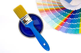 blue paint swatches blue paint and swatches stock image image of abstract 34143195