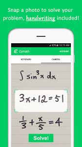 math keyboard apk cymath math problem solver 2 12 apk android education