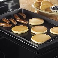 Backsplash For Kitchen Amazon Com Nordic Ware 2 Burner Backsplash Griddle Kitchen U0026 Dining