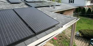 Solar Panel Curtains Solar Panel Window Shades Modern House Roof With Water Heater